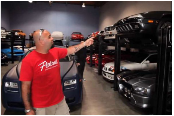 Garage Paul Walker : un garage de folie