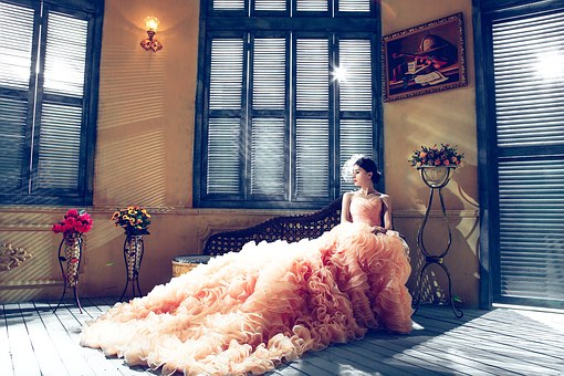 Etre confortable dans sa tenue de mariage